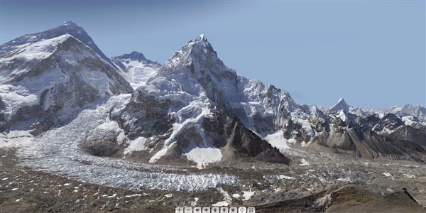 Mont Everest Gigapixel