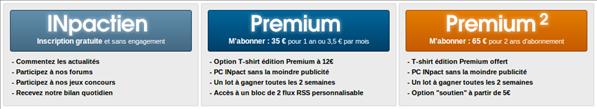 Abonnements Premium PC INpact