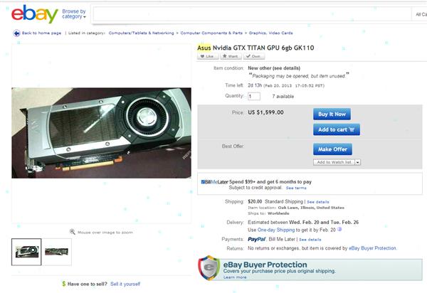 ebay gtx titan