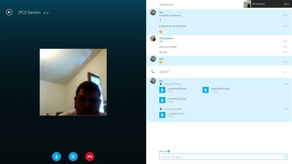 skype win8