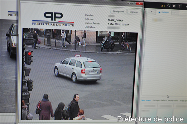 video surveillance police