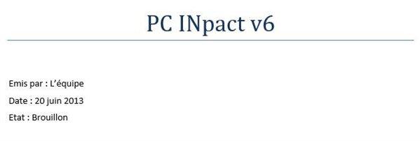 PC INpact v6 CdC