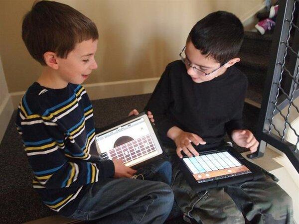 ipad enfants école CC BY 2.0