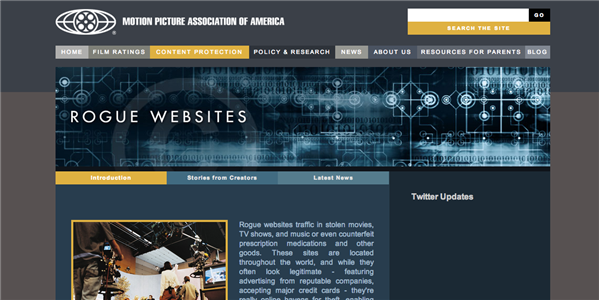 rogue website mpaa