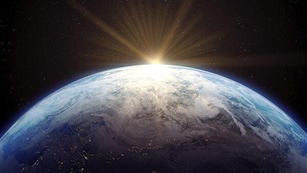 Planète Terre Espace