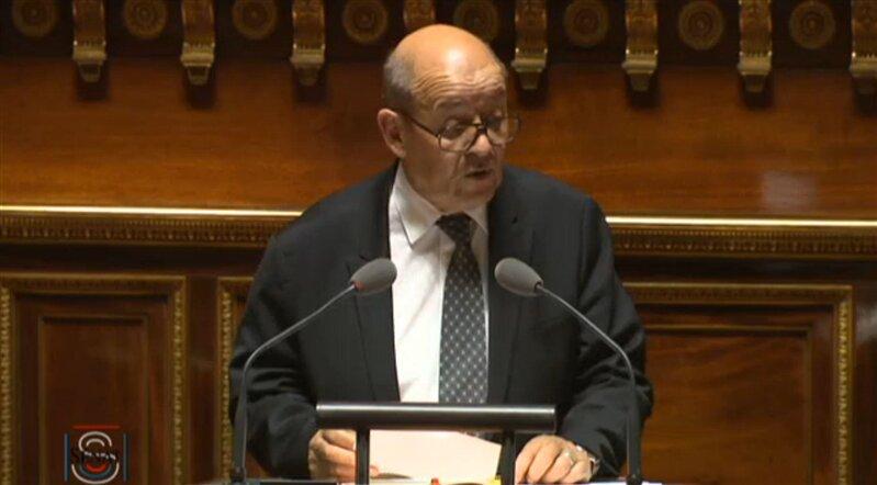 Jean Yves le Drian ministre de la défense