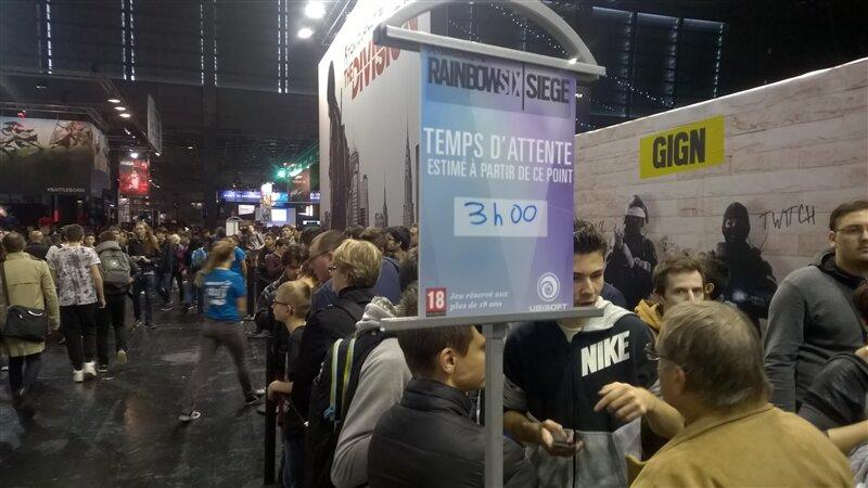 Paris Games Week Ubisoft