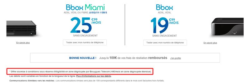Bouygues Telecom zone étendue