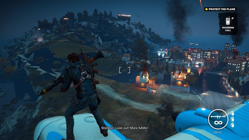 Just Cause 3 glitch