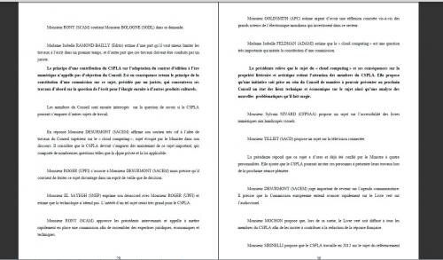 CSPLA cloud computing nuage copie privée taxe