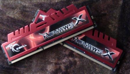 G.Skill RipjawsX DDR3 1866 MHz