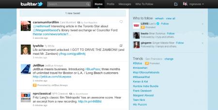 Twitter Tweet sponsorisé Timeline