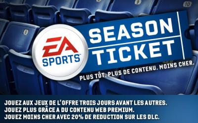 Electronic Arts EA Sports season ticket
