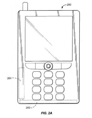 brevet amazon airbag chute choc téléphone