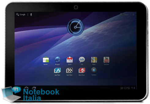 Toshiba tablette Android