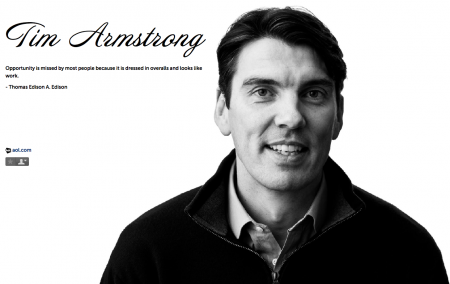 Tim Armstrong AOL