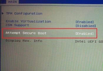 win8 secure boot