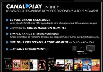 CanalPlay Infinity SVOD