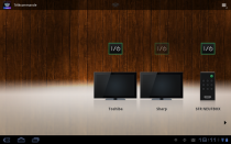 Sony Tablet S telecommande application
