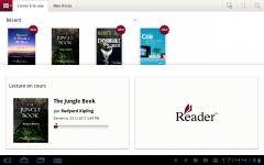 Sony Tablet S reader Apps