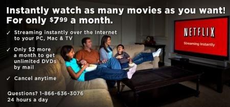 Netflix vod abonnement