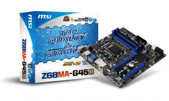 MSI Z68MA-G45 (G3)