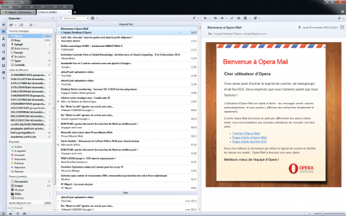 Opera 11.6 client mail
