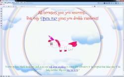 Opera 11.6 beta unicorn