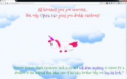 Chrome 11.6 beta unicorn