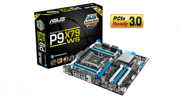 Asus P9X79 WS Workstation X79