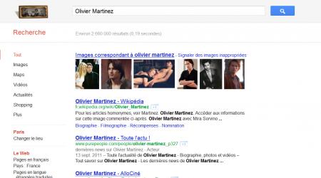 Olivier Martinez Google