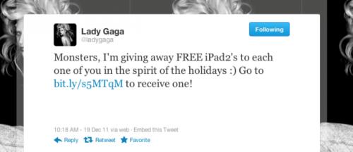 twitter lady gaga