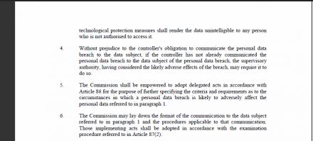 directive européen protection données personnelles