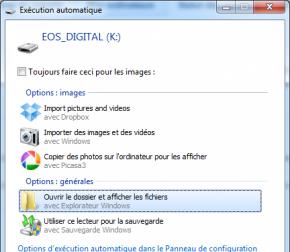 Dropbox 1.3.5 ordinateur upload automatique photos
