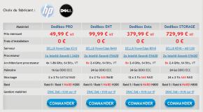 Online Dedibox