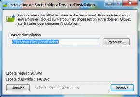 Social Folders Client