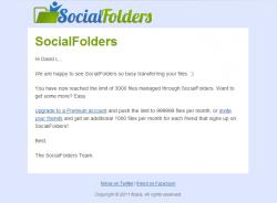 Social Folders Mails