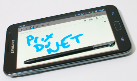 Samsung Galaxy Note test PdN