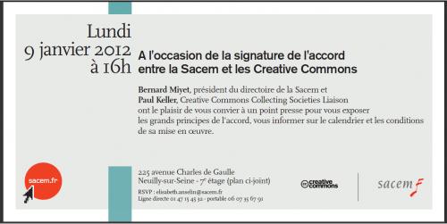 invitation sacem creative commons