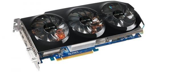 Gigabyte Radeon HD 7970 overclocke WindForce 3x