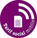 label forfait tarif social mobile