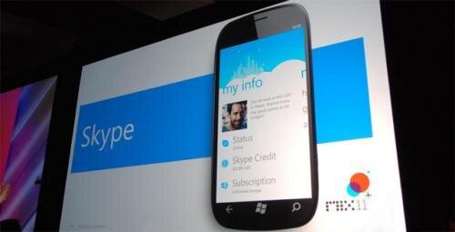 skype WP7