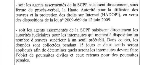 délibération CNIL SCPP