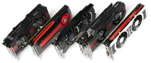 Comparatif Radeon HD 7950 HD7970