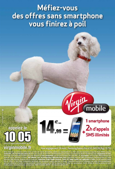 Virgin Mobile smartphone subventionné