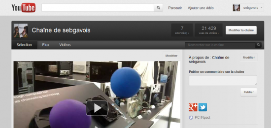 YouTube Google+