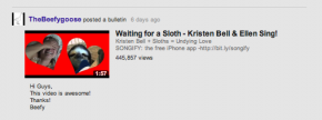 YouTube changements flux présentation
