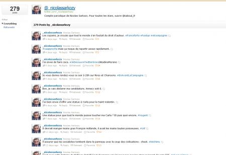 nicolas sarkozy suspension compte twitter usurpation parodie