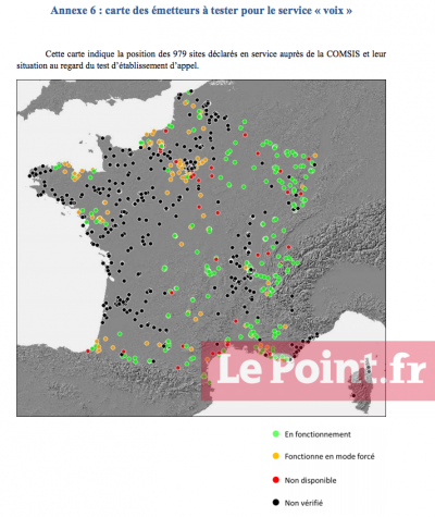 Free Mobile carte ANFR COMSIS