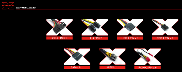 Aerocool Strike X 1100 W